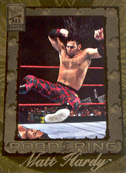 2002 Fleer WWF All Access #96 Matt Hardy RR