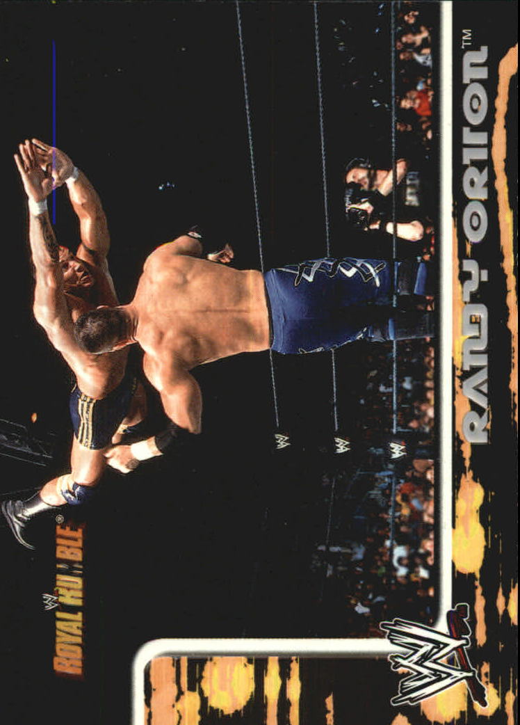 2002 Fleer WWF Royal Rumble #14 Randy Orton