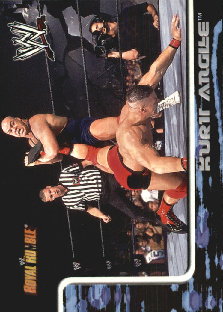 2002 Fleer WWF Royal Rumble #46 Kurt Angle