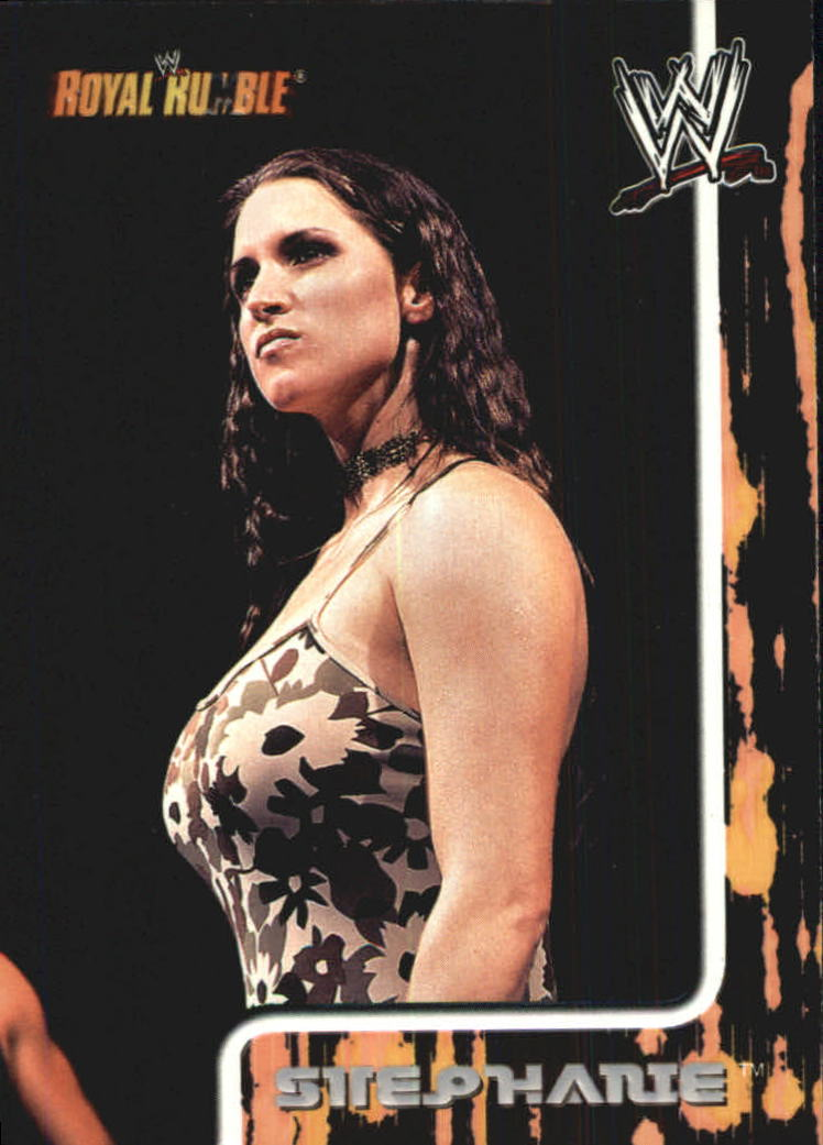 2002 Fleer WWF Royal Rumble #62 Stephanie