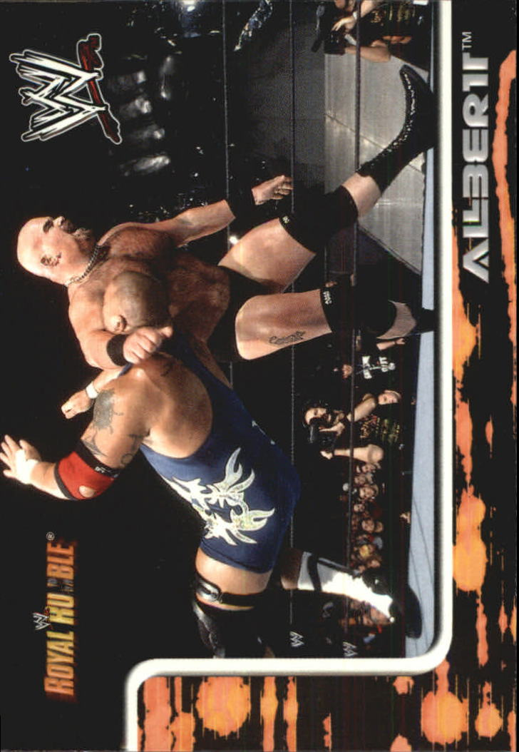 2002 Fleer WWF Royal Rumble #69 Albert