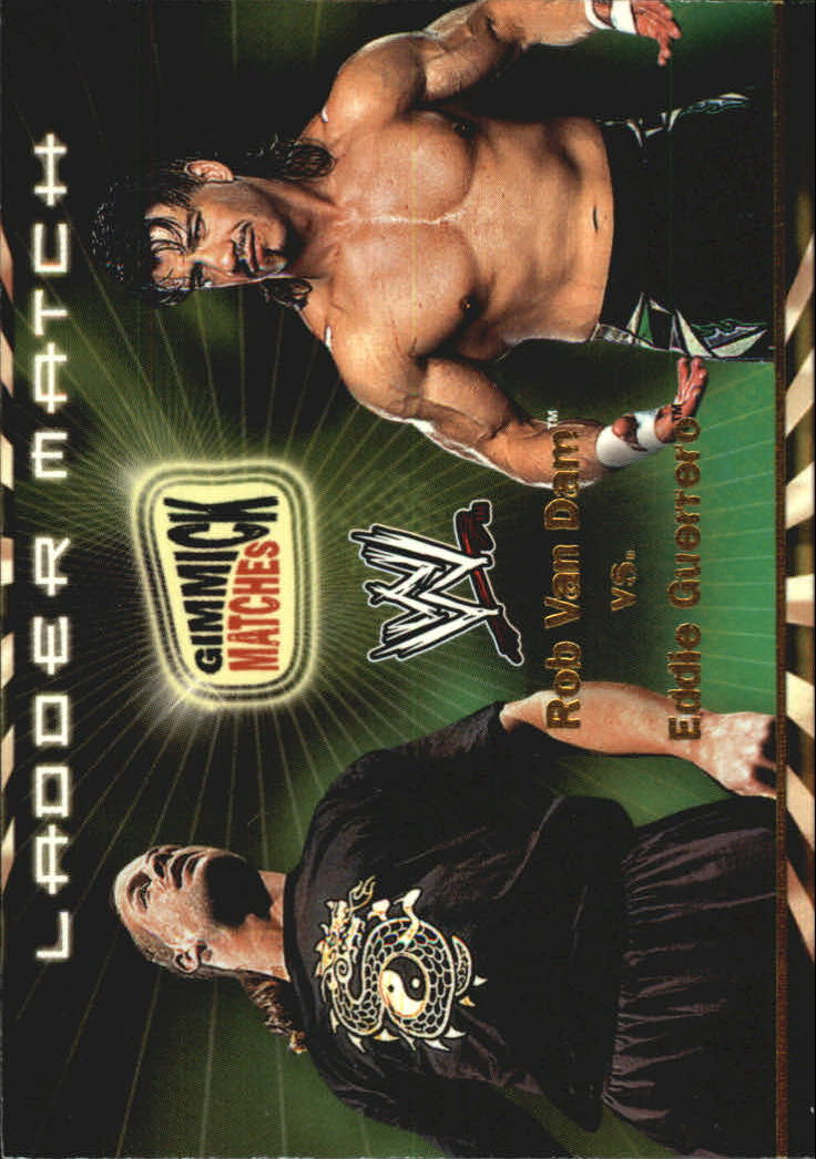 2002 Fleer WWF Royal Rumble Gimmick Matches #GM3 Rob Van Dam/Eddie Guerrero