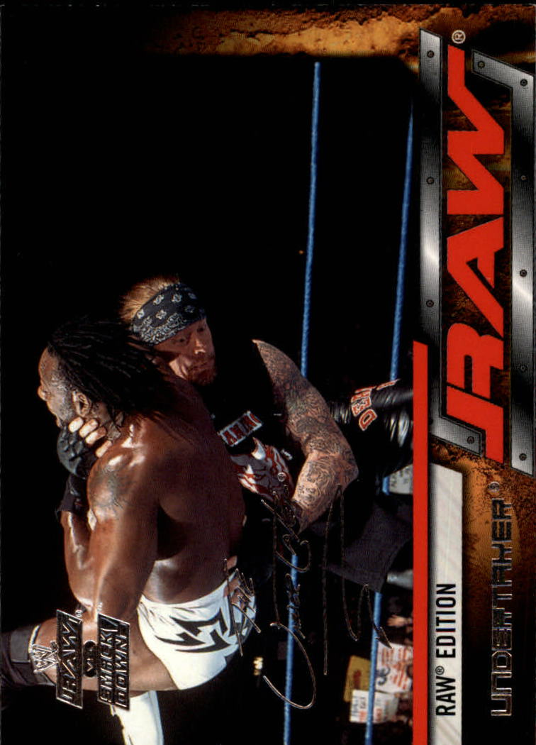2002 Fleer WWE Raw vs. Smackdown #2 Undertaker