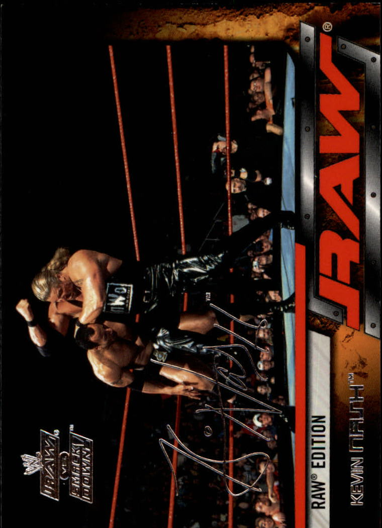 2002 Fleer WWE Raw vs. Smackdown #4 Kevin Nash