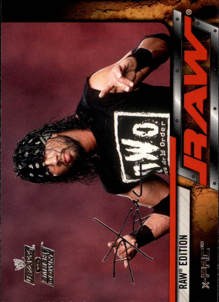 2002 Fleer WWE Raw vs. Smackdown #6 X-Pac