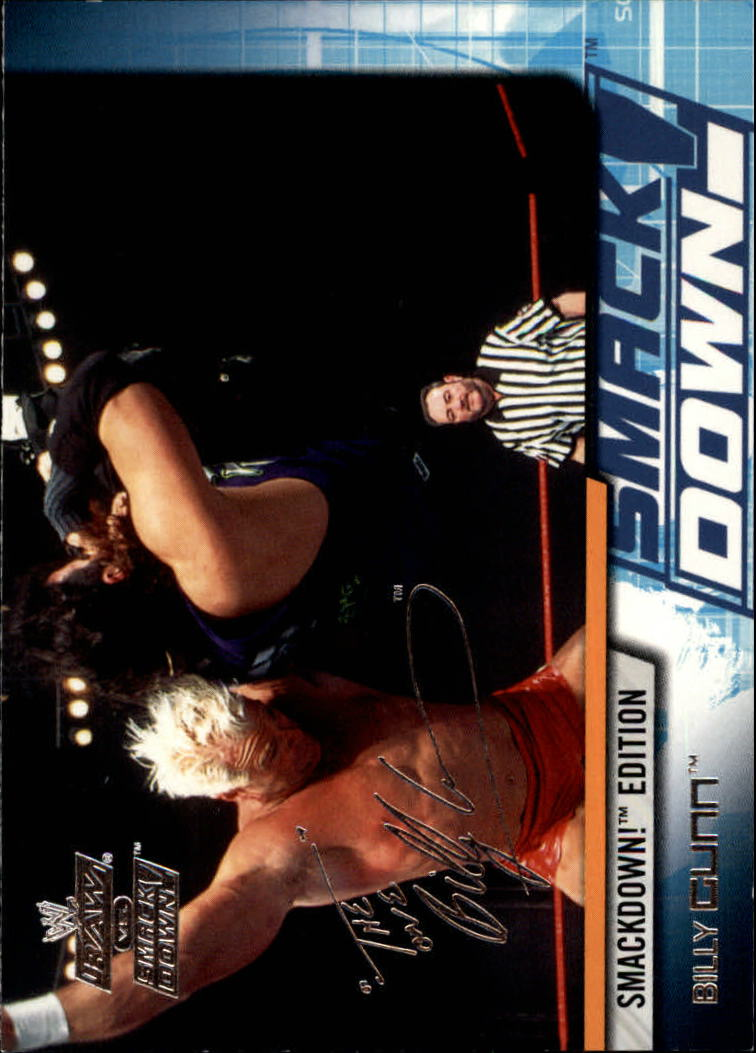 2002 Fleer WWE Raw vs. Smackdown #11 Billy Gunn