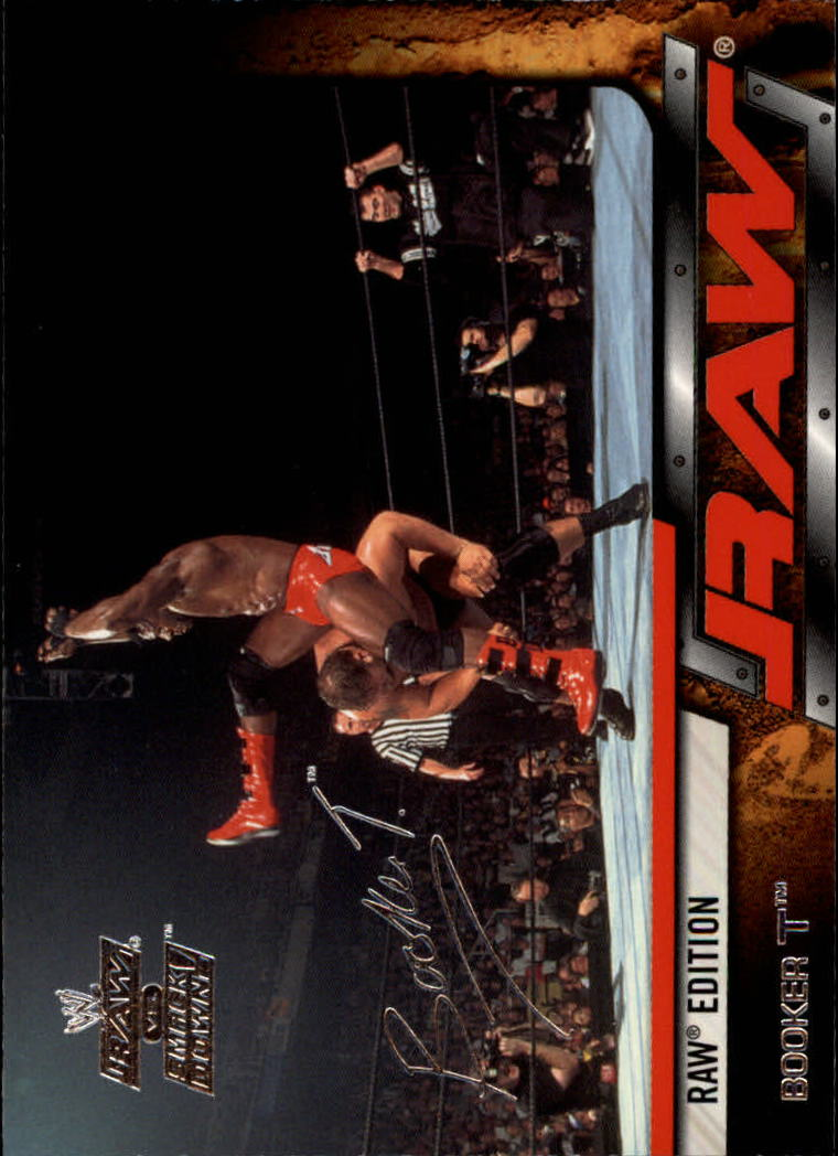 2002 Fleer WWE Raw vs. Smackdown #13 Booker T