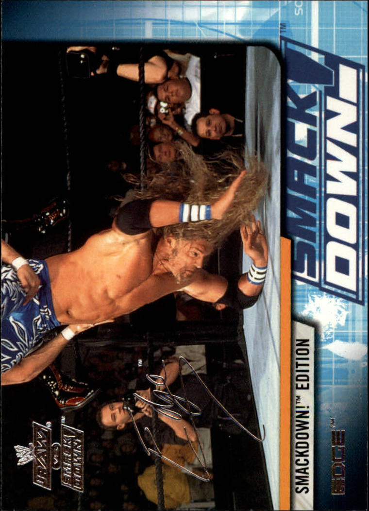 2002 Fleer WWE Raw vs. Smackdown #14 Edge