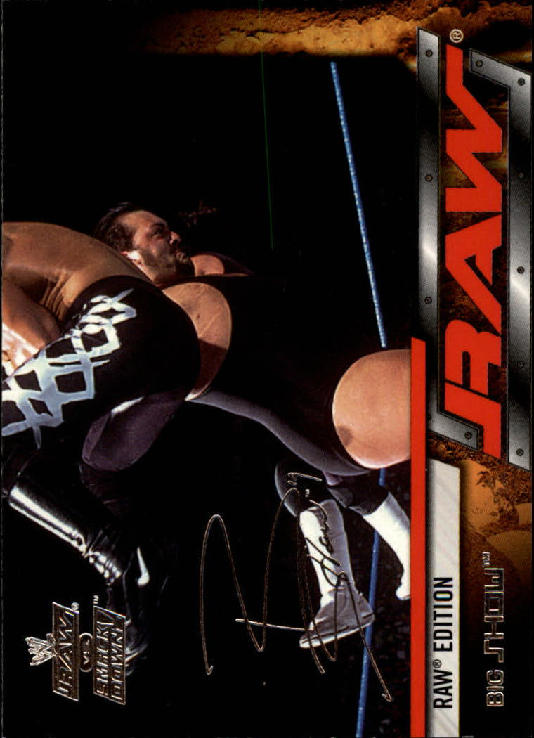 2002 Fleer WWE Raw vs. Smackdown #15 Big Show