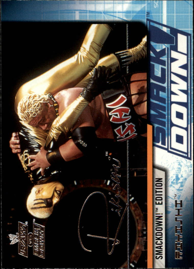 2002 Fleer WWE Raw vs. Smackdown #16 Rikishi