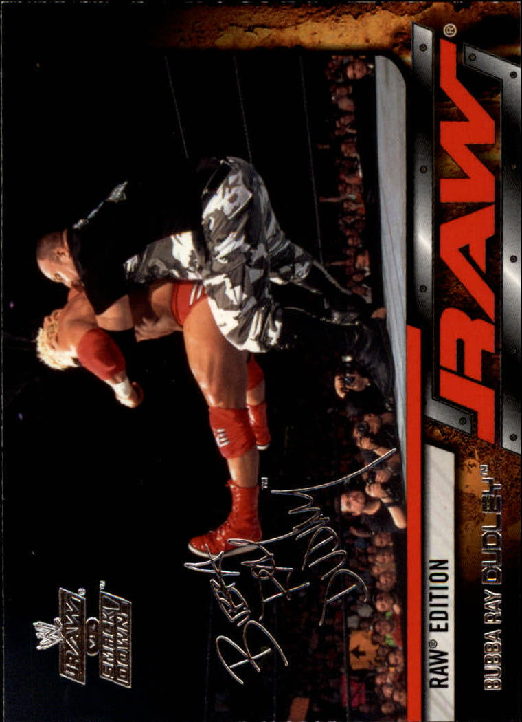 2002 Fleer WWE Raw vs. Smackdown #17 Bubba Ray Dudley