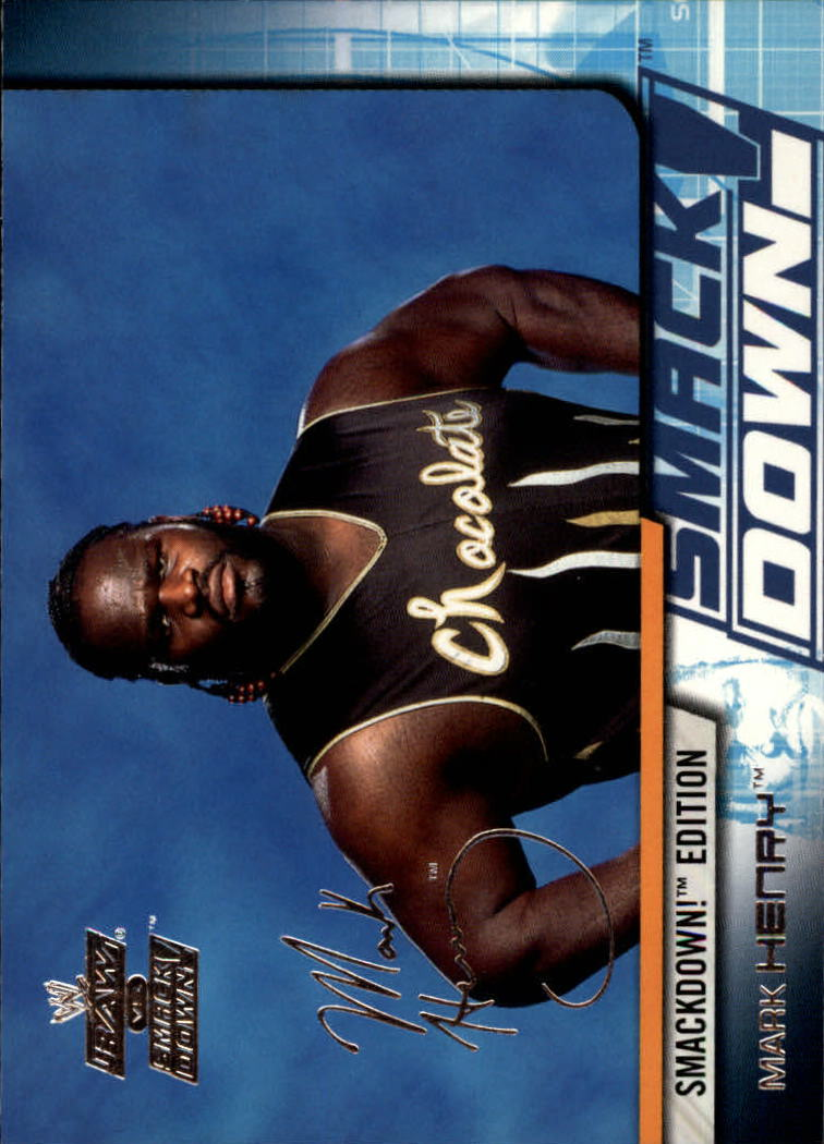 2002 Fleer WWE Raw vs. Smackdown #20 Mark Henry