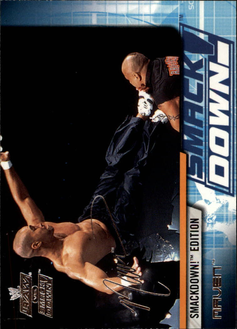 2002 Fleer WWE Raw vs. Smackdown #22 Maven