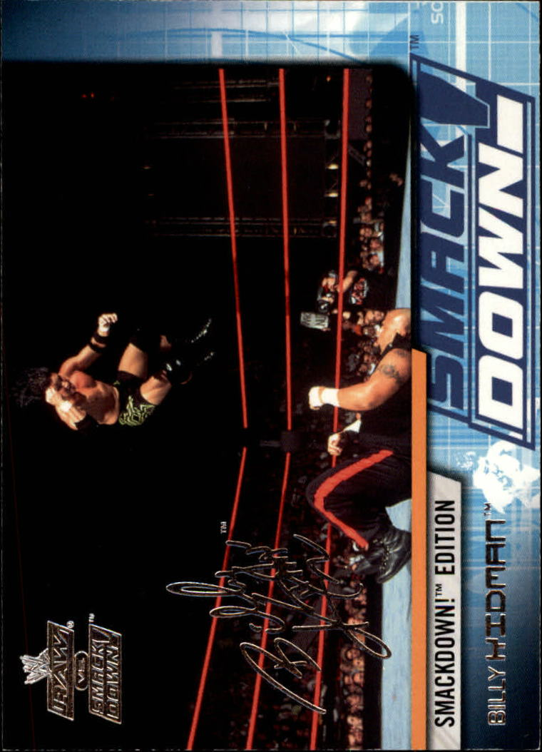 2002 Fleer WWE Raw vs. Smackdown #24 Billy Kidman