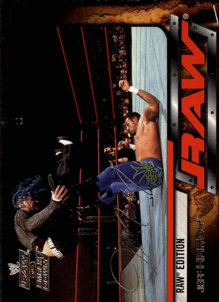 2002 Fleer WWE Raw vs. Smackdown #33 Jeff Hardy