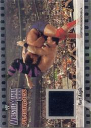 2003 Fleer WWE WrestleMania XIX Flashbacks #3 Kurt Angle