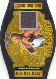 2003 Fleer WWE WrestleMania XIX Title Shots #5 Rob Van Dam