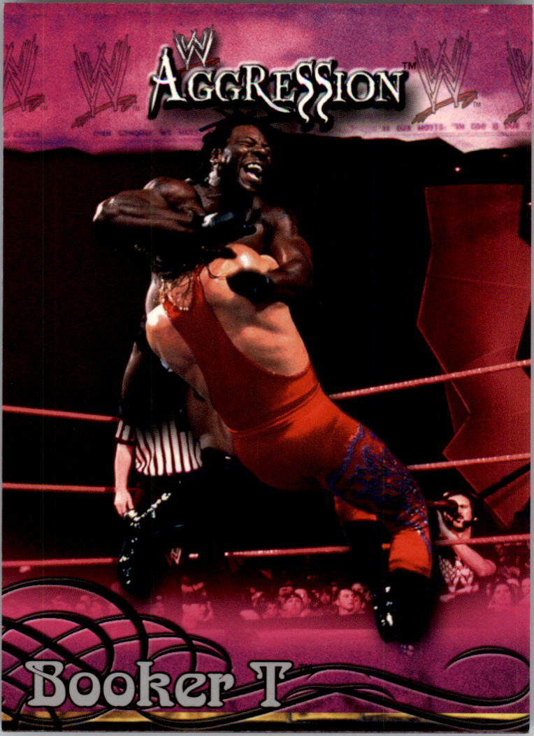 2003 Fleer WWE Aggression #3 Booker T