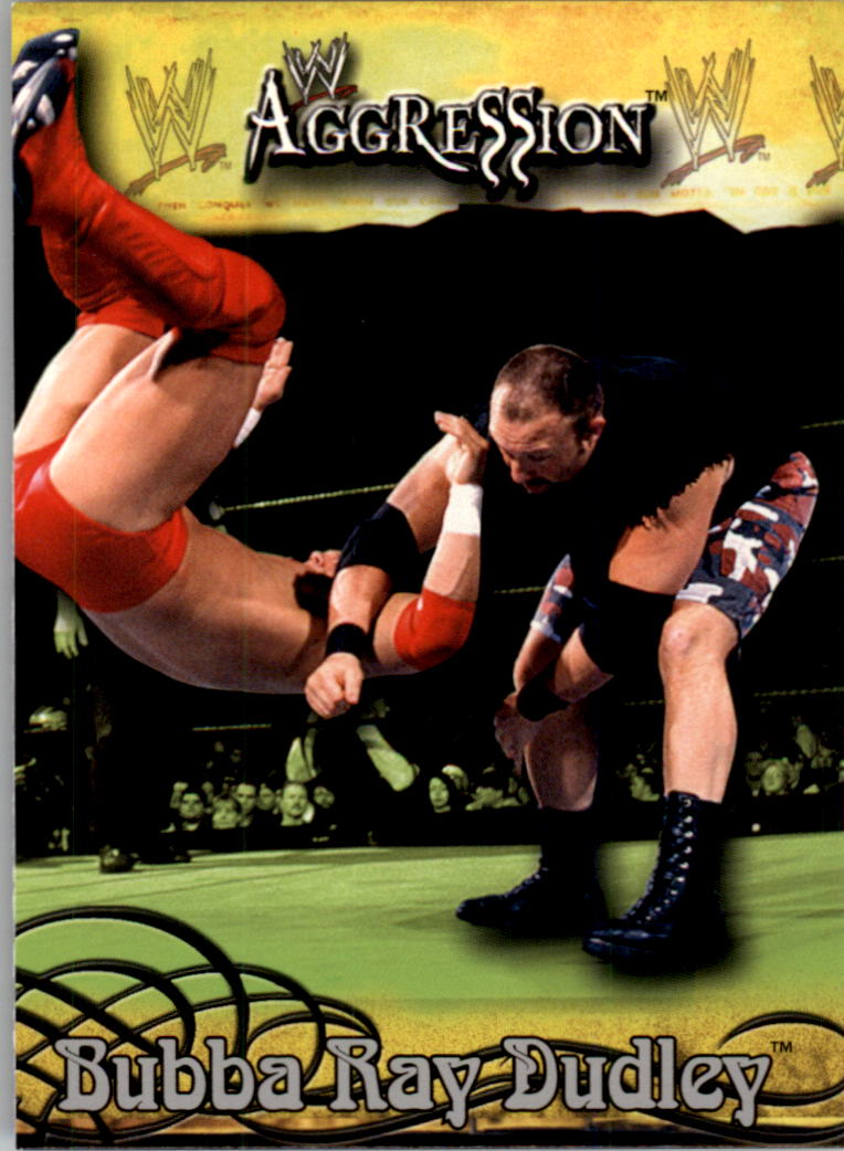 2003 Fleer WWE Aggression #5 Bubba Ray Dudley