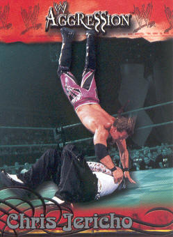 2003 Fleer WWE Aggression #7 Chris Jericho