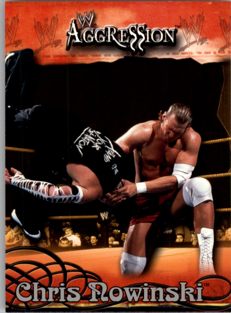 2003 Fleer WWE Aggression #8 Chris Nowinski