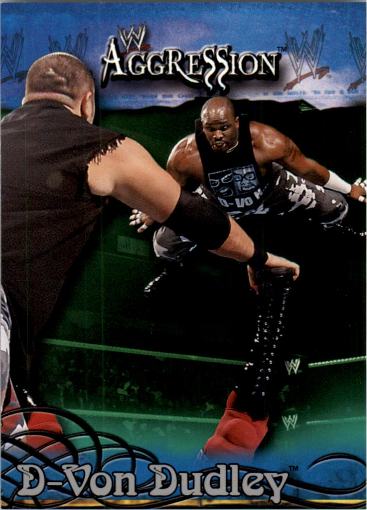 2003 Fleer WWE Aggression #10 D-Von Dudley