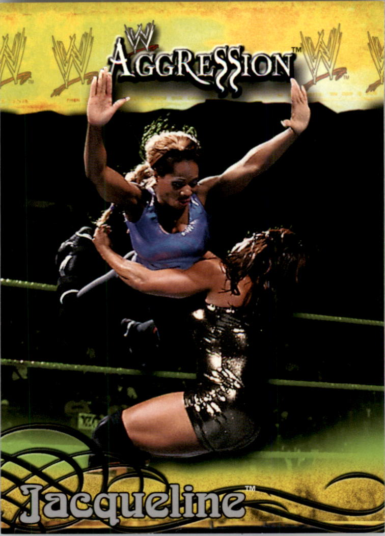 2003 Fleer WWE Aggression #14 Jacqueline
