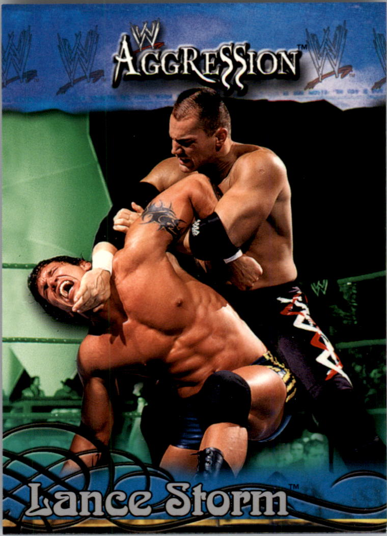 2003 Fleer WWE Aggression #20 Lance Storm