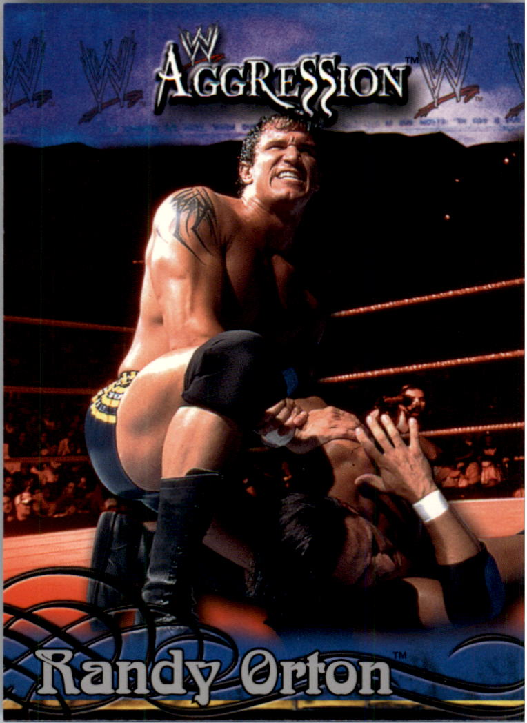 2003 Fleer WWE Aggression #25 Randy Orton