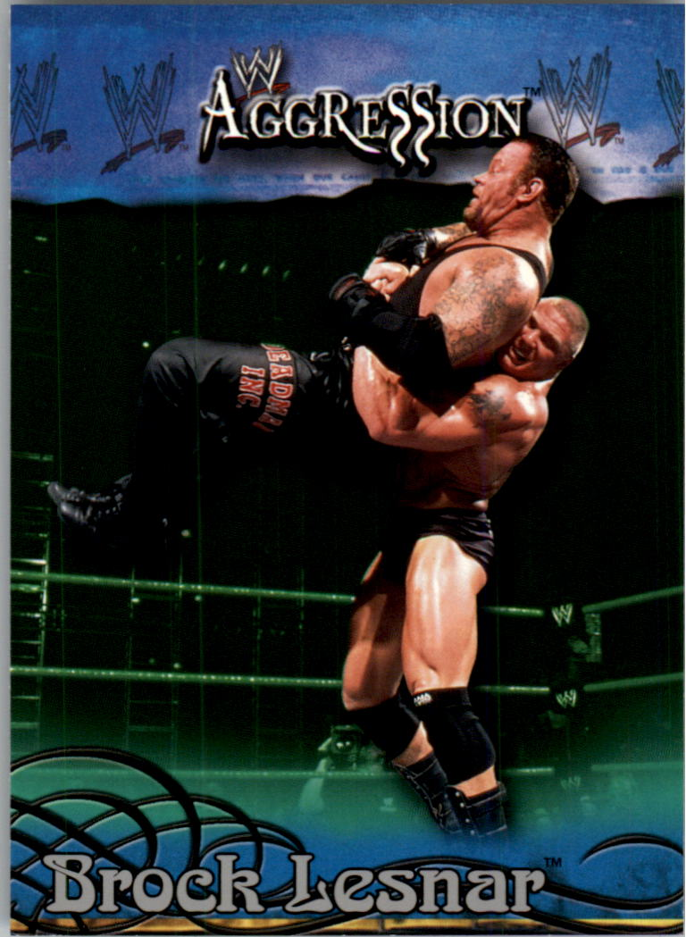 2003 Fleer WWE Aggression #47 Brock Lesnar