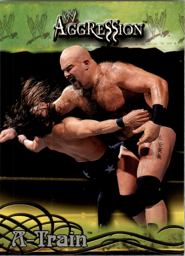 2003 Fleer WWE Aggression #76 A-Train