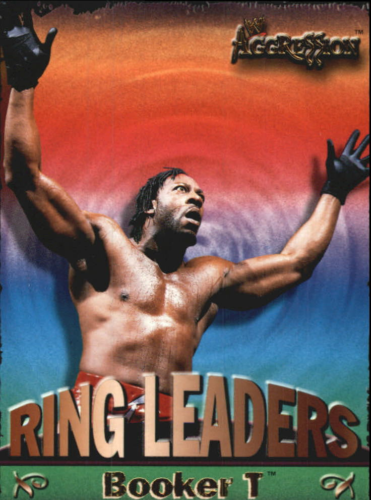 2003 Fleer WWE Aggression Ring Leaders #15 Booker T