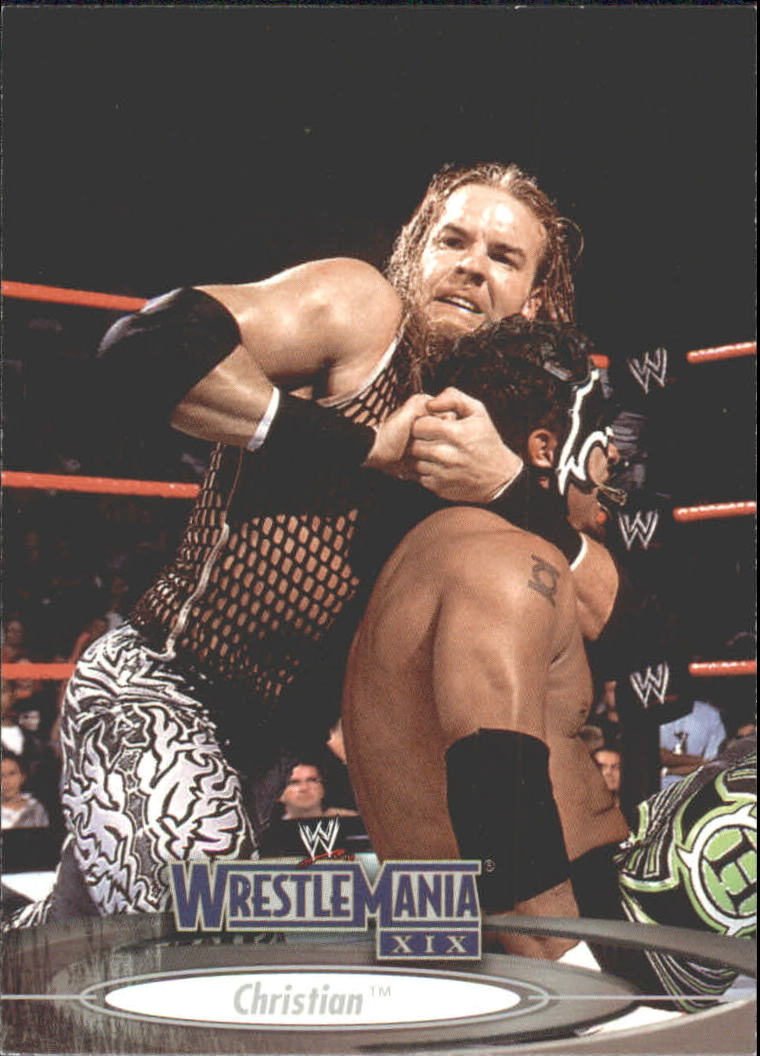 2003 Fleer WWE WrestleMania XIX #13 Christian