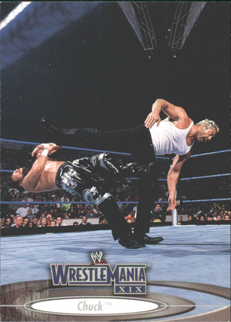 2003 Fleer WWE WrestleMania XIX #14 Chuck
