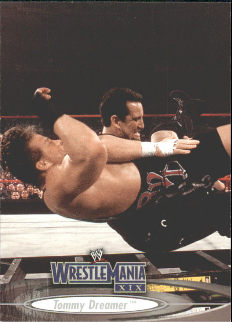2003 Fleer WWE WrestleMania XIX #15 Tommy Dreamer