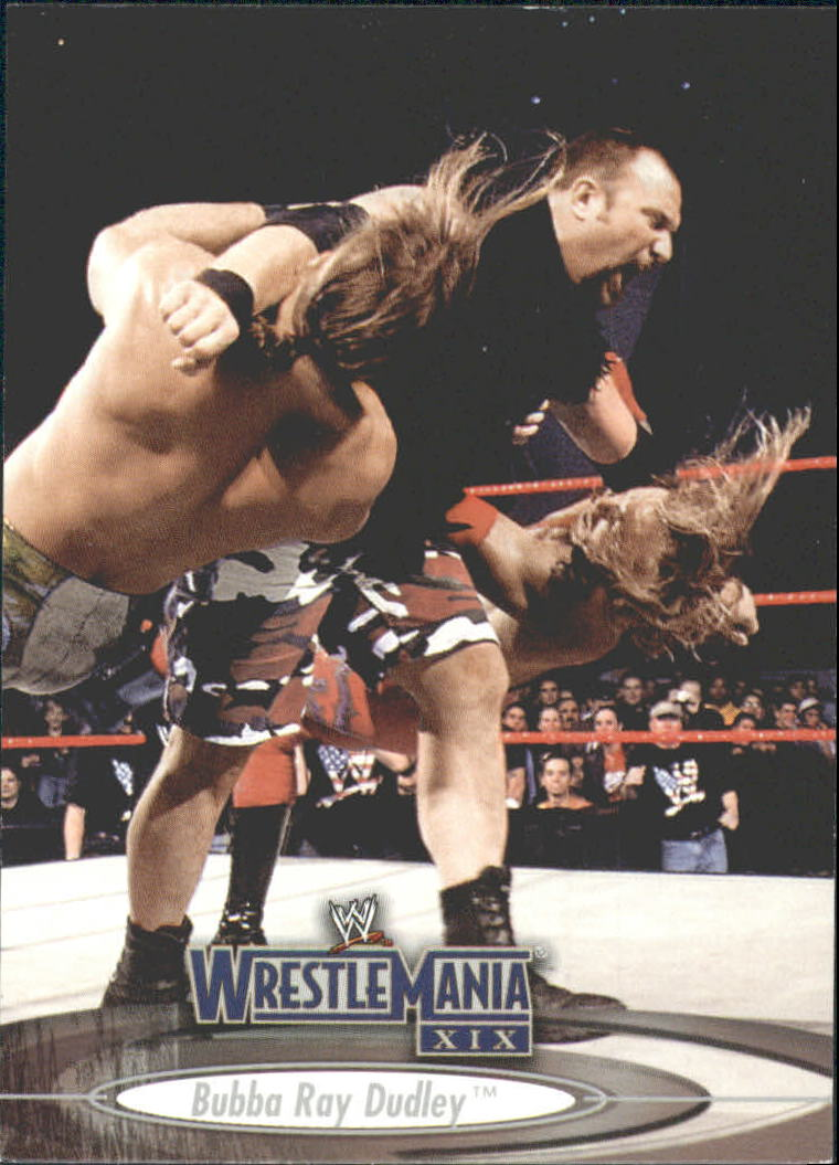 2003 Fleer WWE WrestleMania XIX #16 Bubba Ray Dudley