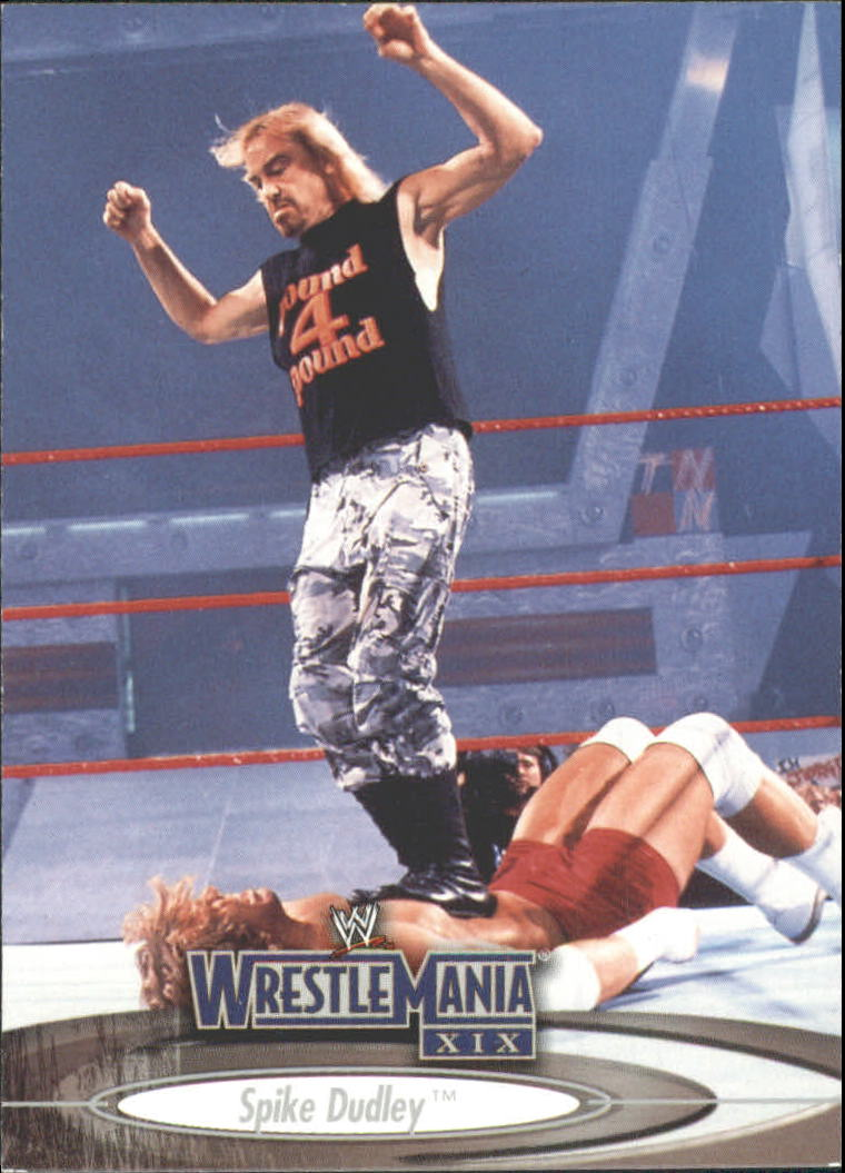 2003 Fleer WWE WrestleMania XIX #17 Spike Dudley