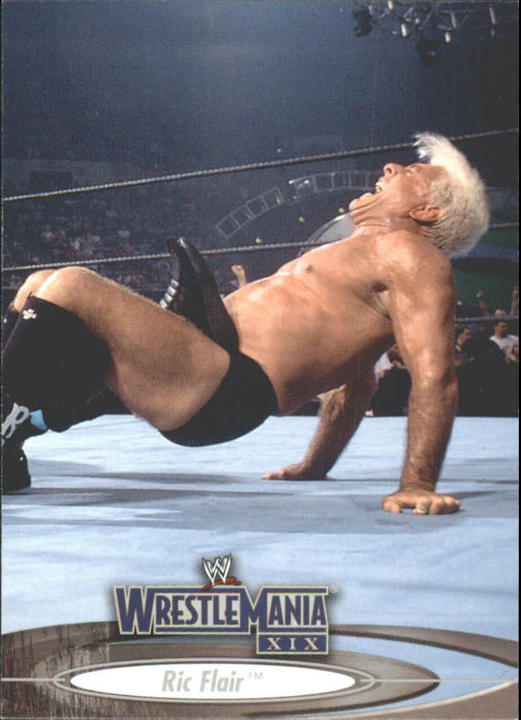 2003 Fleer WWE WrestleMania XIX #21 Ric Flair