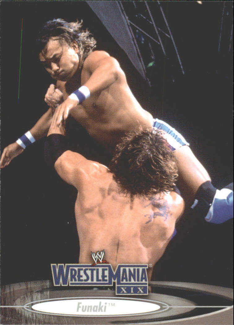 2003 Fleer WWE WrestleMania XIX #22 Funaki