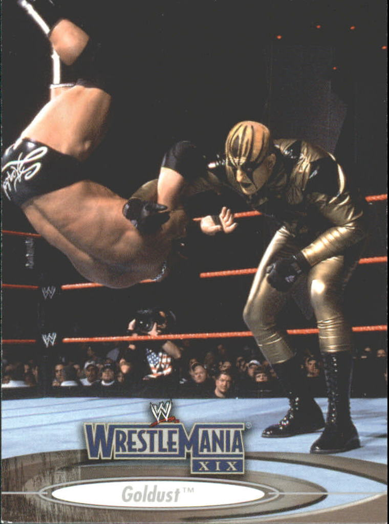 2003 Fleer WWE WrestleMania XIX #23 Goldust