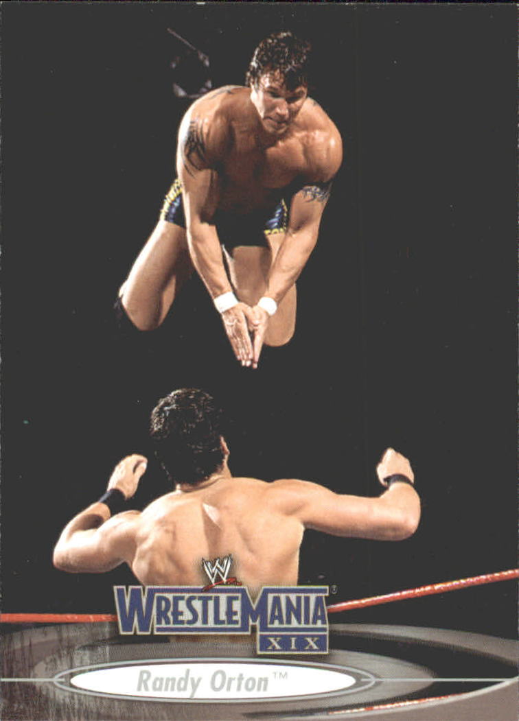 2003 Fleer WWE WrestleMania XIX #44 Randy Orton