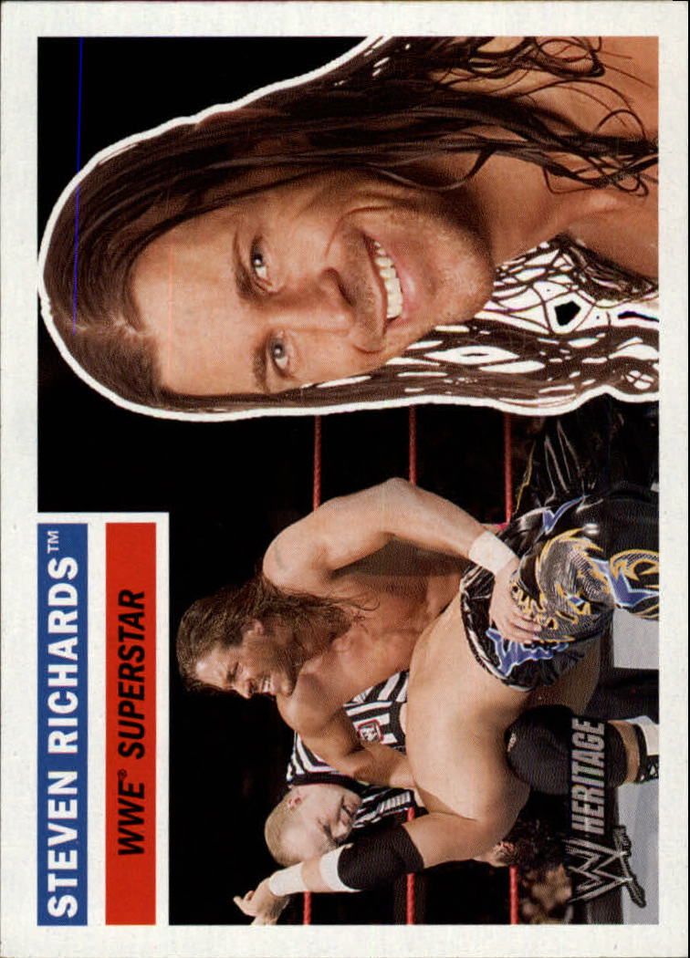 2005 Topps Heritage WWE #33 Steven Richards
