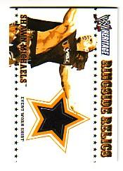 2005 Topps Heritage WWE Ringside Relics  #7 Shawn Michaels