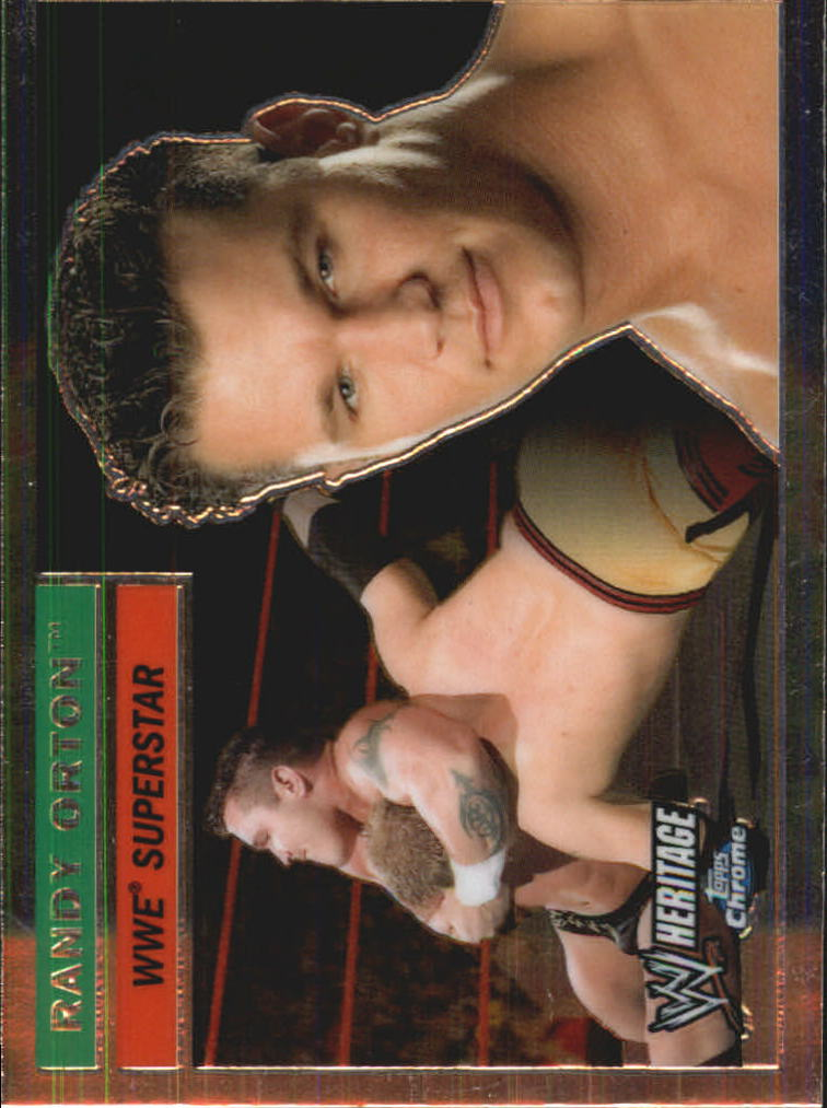2006 Topps Heritage Chrome WWE #47 Randy Orton