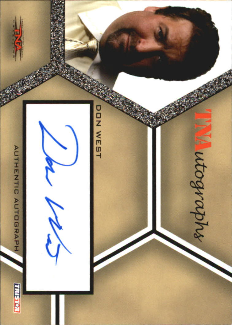 2008 TriStar TNA Impact Autographs #ADW Don West