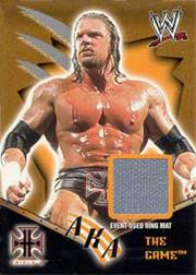 2002 Fleer WWF Royal Rumble AKA Memorabilia #1 Triple H