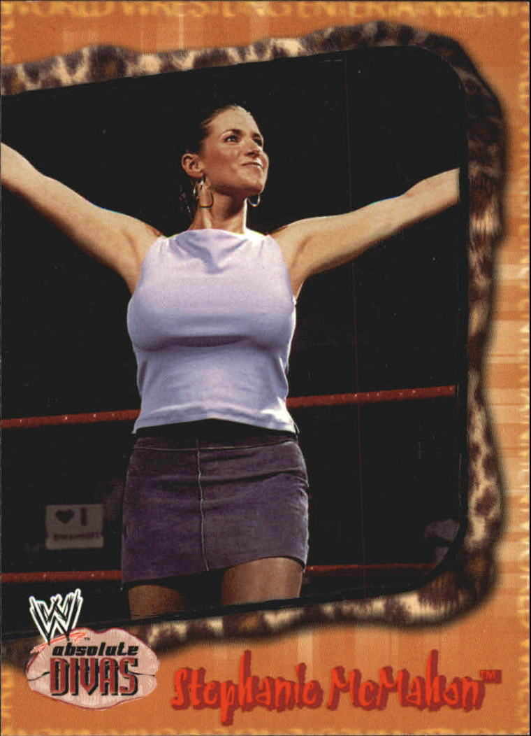 2002 Fleer WWE Absolute Divas #11 Stephanie McMahon