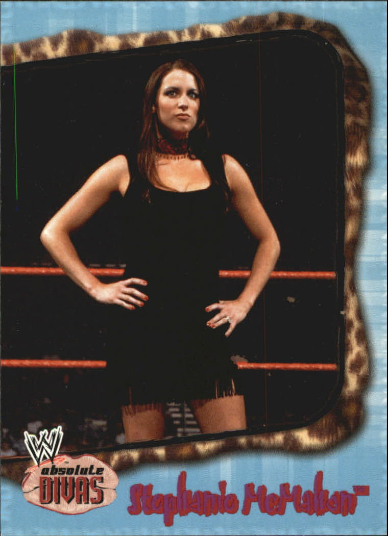 2002 Fleer WWE Absolute Divas #25 Stephanie McMahon