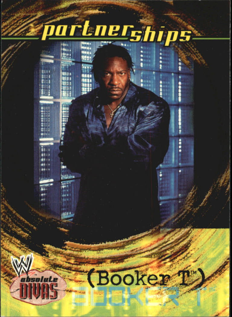 2002 Fleer WWE Absolute Divas #53 Booker T PS