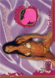 2002 Fleer WWE Absolute Divas Material Girls #11 Victoria